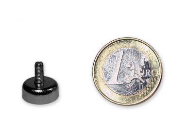 Neodym Flachgreifer mit Gewinde Ø 12,0 mm M3 hält 3,0 kg