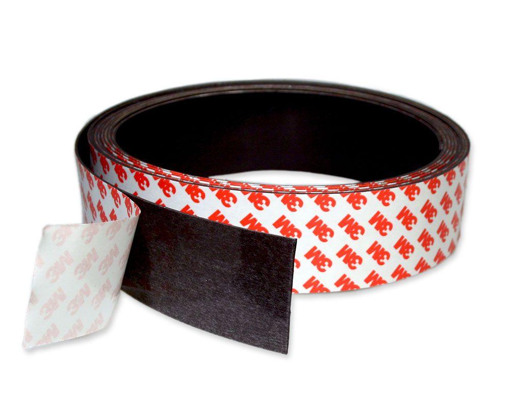 Magnetband einseitig selbstklebend 50 mm x 1,5 mm je 1m