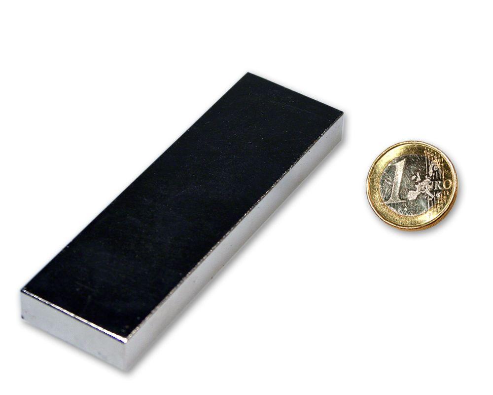 Neodym Magnet 30 x 10 x 2 mm Supermagnet hohe Haftkraft Quadermagnet 100 Stück