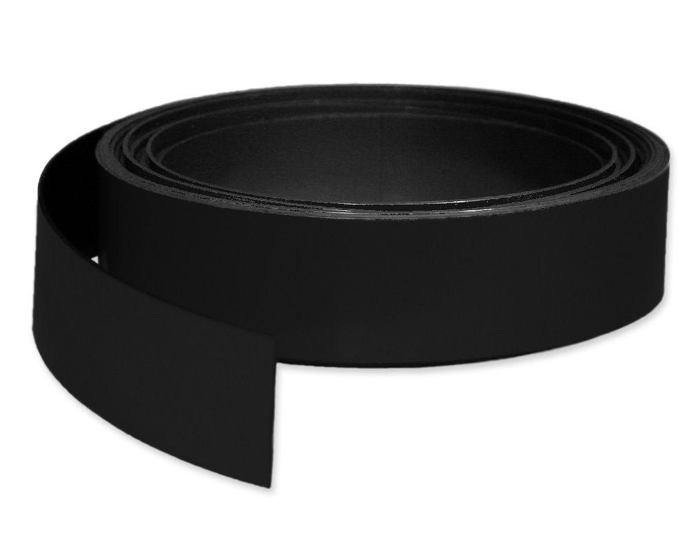 Kennzeichnungsband magnetisch, 30 mm Breite, Meterware, Schwarz