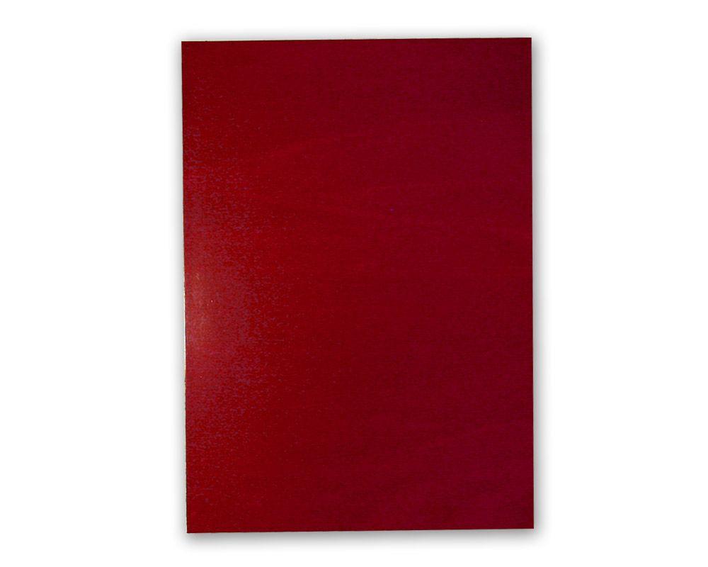 Magnetfolie A4 (297 x 210 mm) - Rot