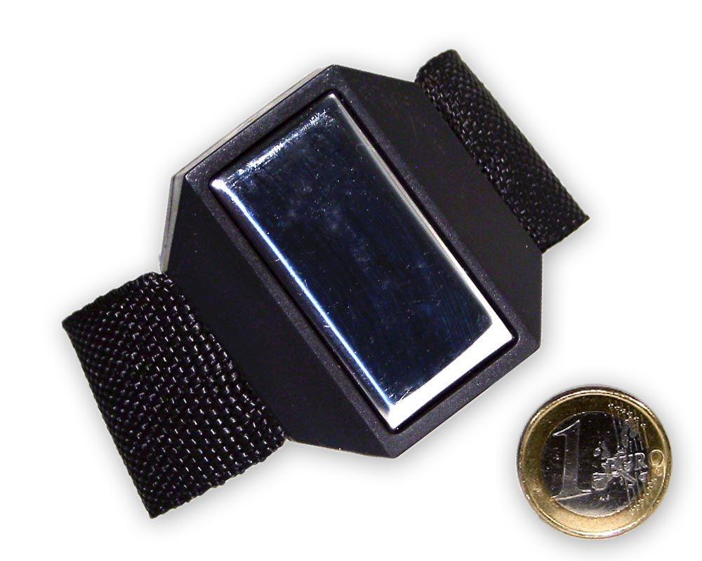 Magnetisches Armband (Kleinteilehalter) mit Klettverschluss