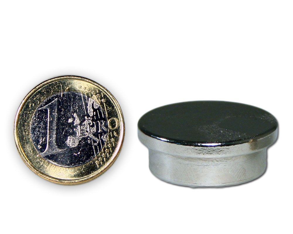 Pinnwandmagnet aus Stahl - hält 7,0 kg