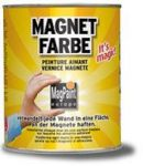 MagnetFarbe - Magpaint - magnetische Wandfarbe 2,5 L