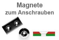 Magnete zum Einkleben aus Neodym mit Senkloch