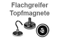 Neodym Flachgreifer und Topfmagnete