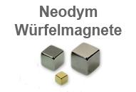 Neodym Magnete Würfelmagnete Magnet shop