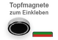 Flachgreifer-Topfmagnete zum Einkleben