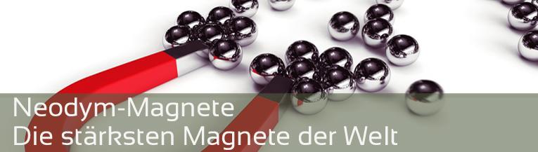 Neodymmagnet - die stärksten Magnete der Welt hier im Shop online kaufen